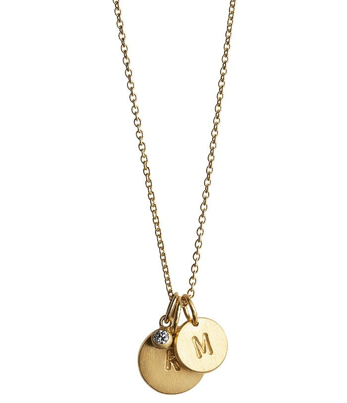 Jane Koening halsband L och sten