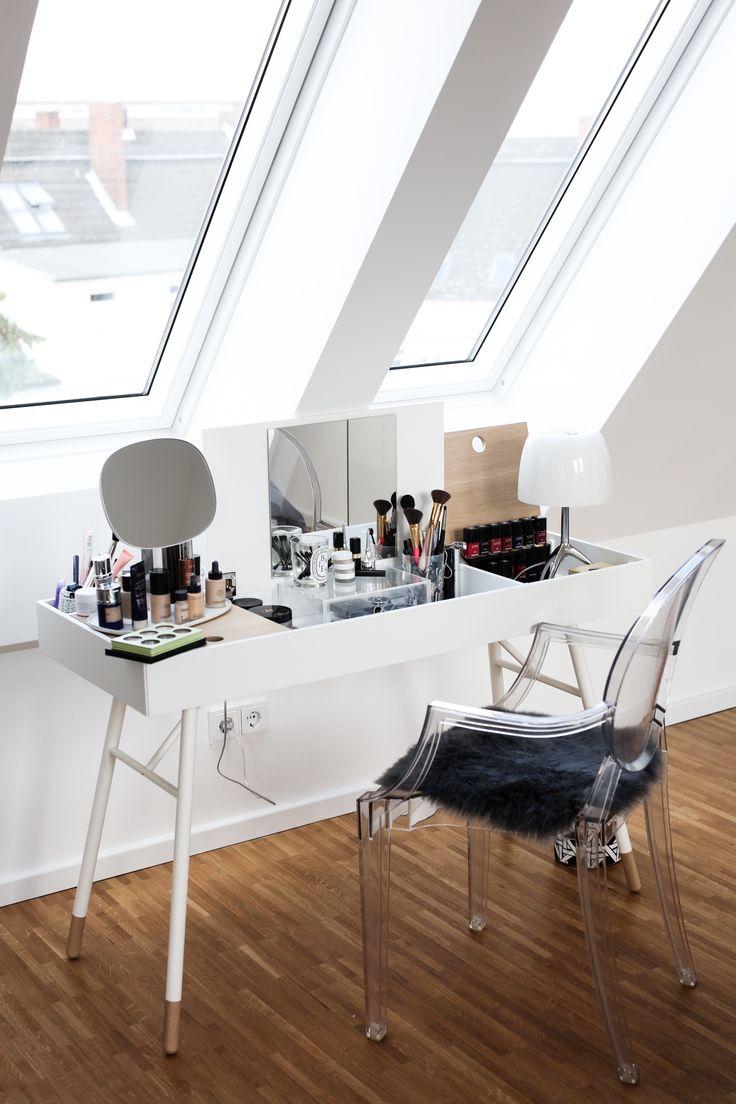 die besten 25 schminktische ideen auf pinterest schlafzimmer teenager makeup organisation. Black Bedroom Furniture Sets. Home Design Ideas