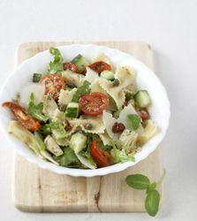 Colruyt Culinair - Farfallesalade met geroosterde artisjok en zomergroenten