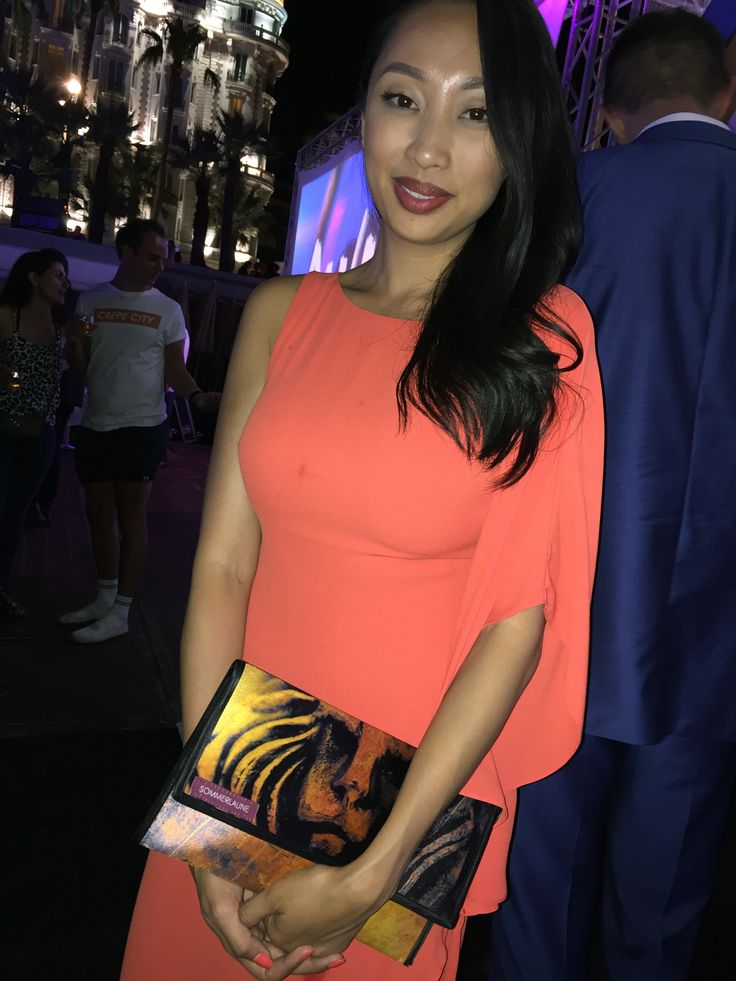 """""""Beauty&Beast""""-Clutch by SOMMERLAUNE at the Cannes Lions International Festival of Creativity.  #fashion #clutch #style #beauty #cannes"""