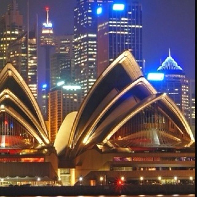 Sydney Opera House,Sydney, This glorious view is just down the road  - blessed.