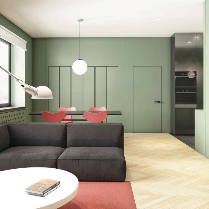 Color Trends 2020 Starting From Pantone 2019 Living Coral Matches Minimalist Living Room Apartment Interior Design Living Room Trends
