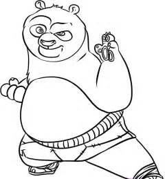 kung fu panda coloring pages Kung Fu Panda Coloring Pages For Kidsjpg