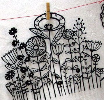 great flowers to embroidery