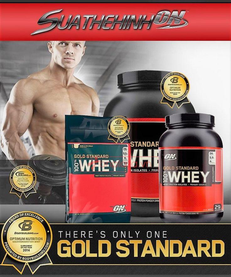 Những điểm nổi bật của sữa tăng cơ Protein Gold Standard 100% Whey  được các chuyên gia và người tiêu dùng đánh giá trong nhiều thập kỉ nghiên cứu và sử dụng sản phẩm này