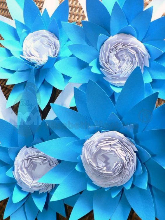 Decorados en origami y kirigami Elimon
