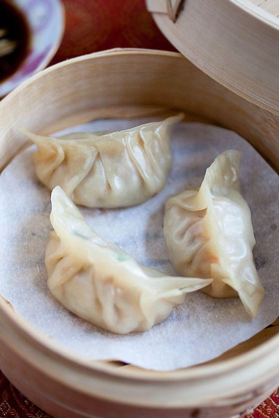 asian chicken dumpling recipe