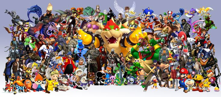 Can you name the All These Video Game Characters? Quiz by OctoKing ...