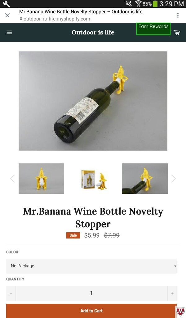 You can get this cool wine stopper in store click link in bio