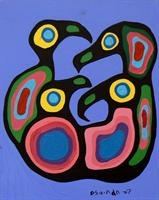 Four Loons - Norval Morrisseau