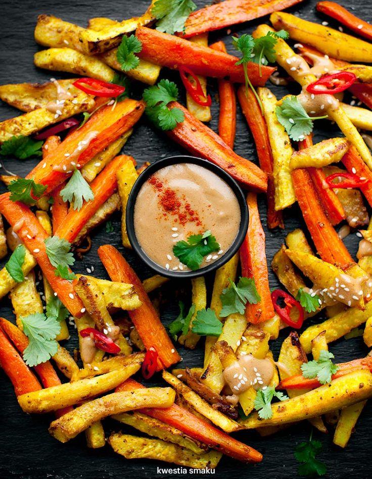 Warzywa pieczone z SOSEM SATAY