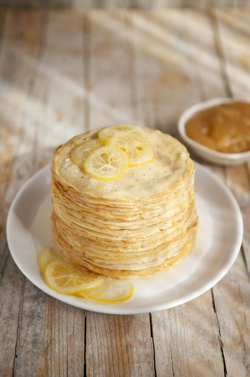 lemon pancakes..i HAVE to try these..