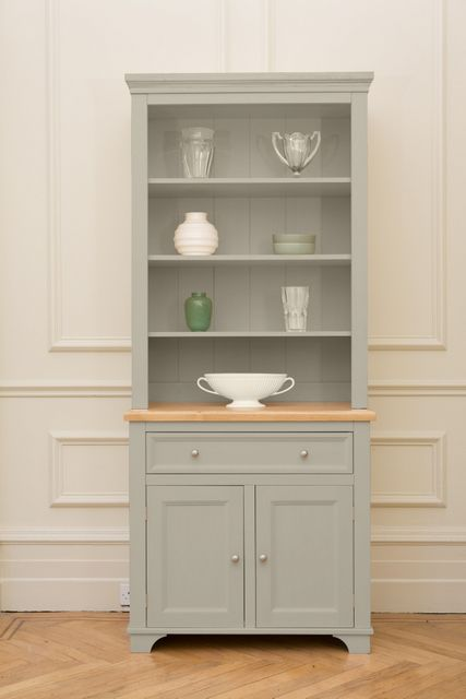 The Belvoir Dresser From Kitchen Company Painted In Saltmarsh