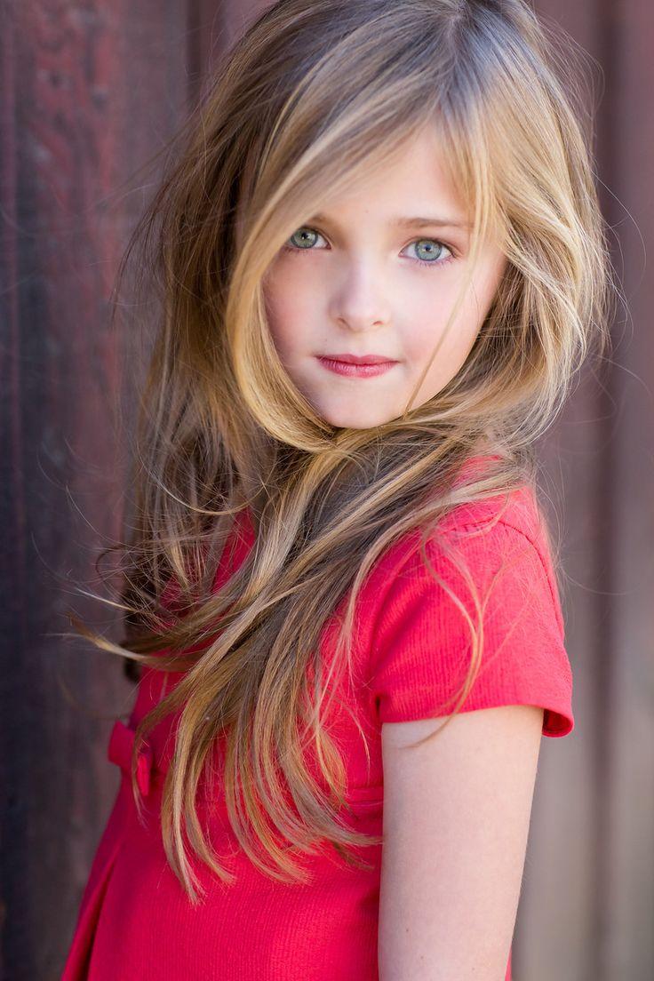 Young cute girl model — 14