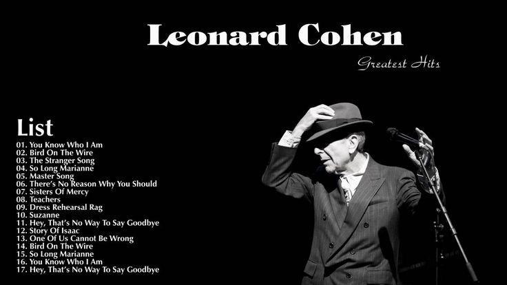Leonard Cohen Greatest hits full album 2016