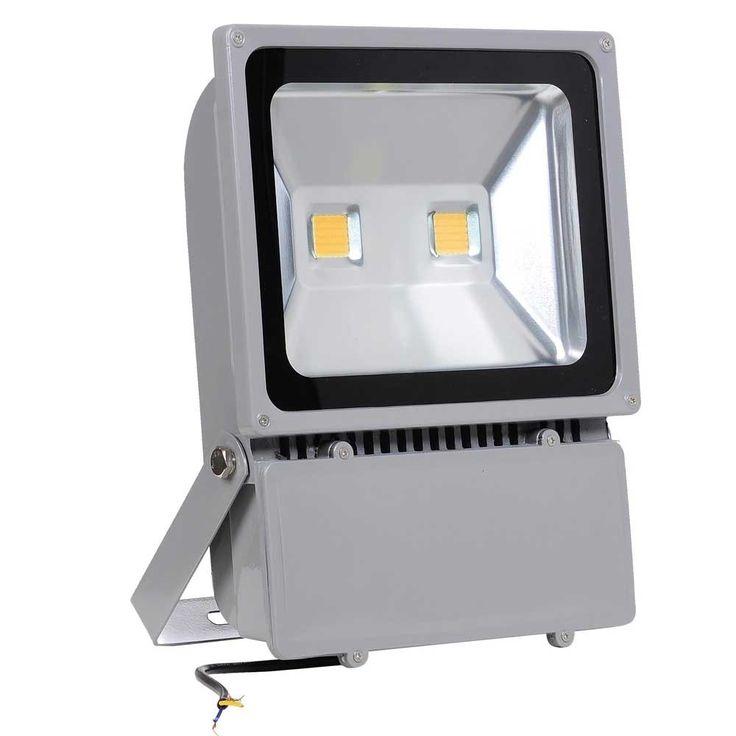 Oyep (TM) 100w LED Outdoor Flood Lights Security Light Waterproof IP65 Projector Lamp Landscape Spotlights lights Ad Billboard 8000lm 250w Halogen Bulb Equivalent (100W Warm White)