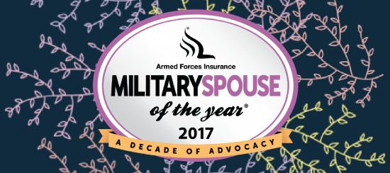 Nominations for 2017 Armed Forces Insurance 10th Annual Military Spouse of the Year®, presented by Military Spouse Magazine, Open Nationwide!