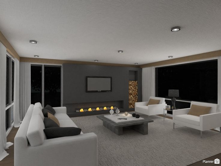 Living Room Interior Design White, Living Room Design Tool