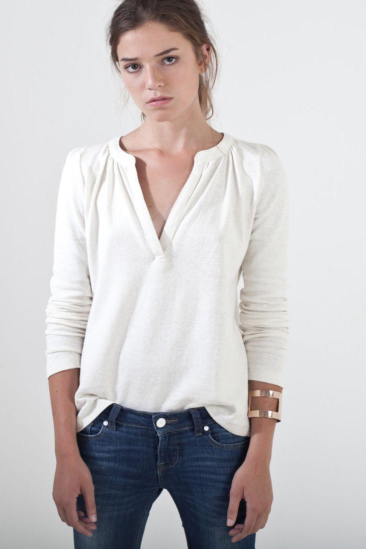 Sitting Pretty | Shop | AW15 | Organic | Snow knit top