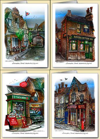 David Crighton - Coronation Street Note Cards (12)