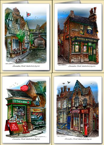 David Crighton - Coronation Street Note Cards (12)