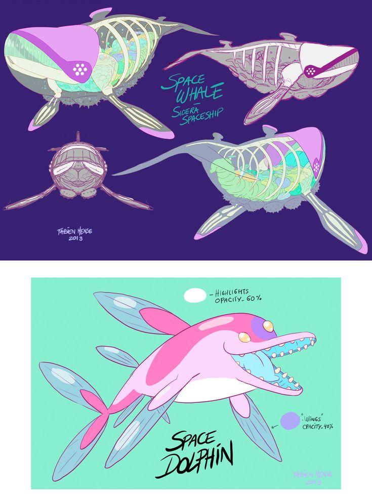 Artes da animação SIDERA, de Catfish Deluxe e Yapiko Animation | THECAB - The Concept Art Blog