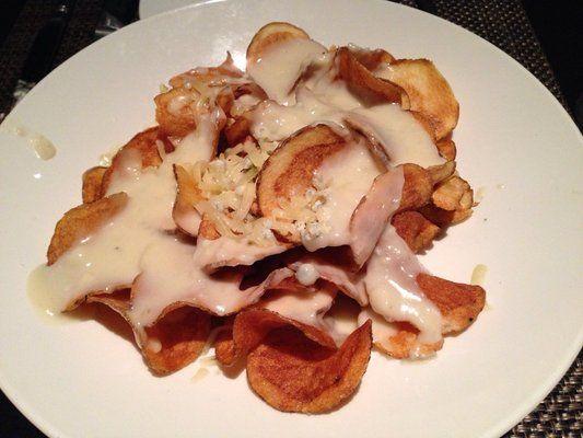 Steakhouse Chain Restaurant Recipes: J. Gilbert's Maytag Blue Cheese Potato Chips