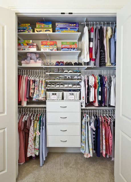 20 Amazing Closet Design Ideas - this one would be great in N's room