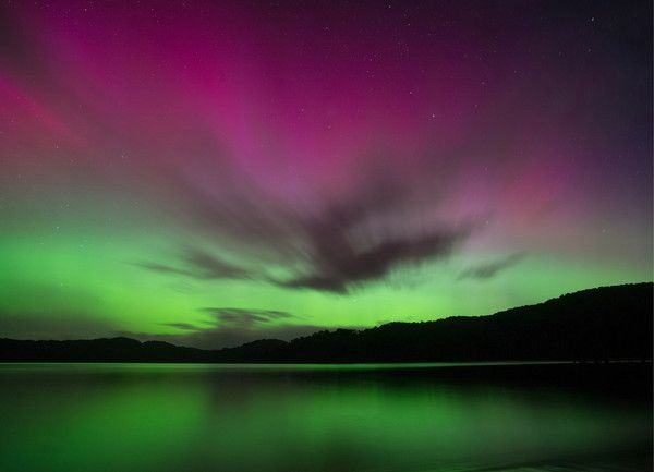 Aurora Australis | Southern Lights from Stewart Island - New Zealand Fine Art Photography Prints Send worldwide Copyright to Stewart Nimmo - Nimmo Photography www.nimmophoto.co.nz