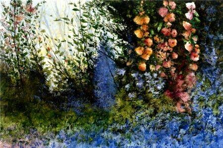 art: Floral Study, artist: Miguel Dominguez