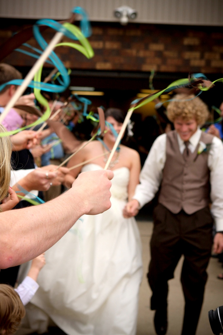 wedding ribbon wandsPhotos Ideas, June 25, Wands Valerie, Details Ideas, Grand Exit, Pictures, Valerie Urquhart, Ribbons Wands, Ceremonies Decor