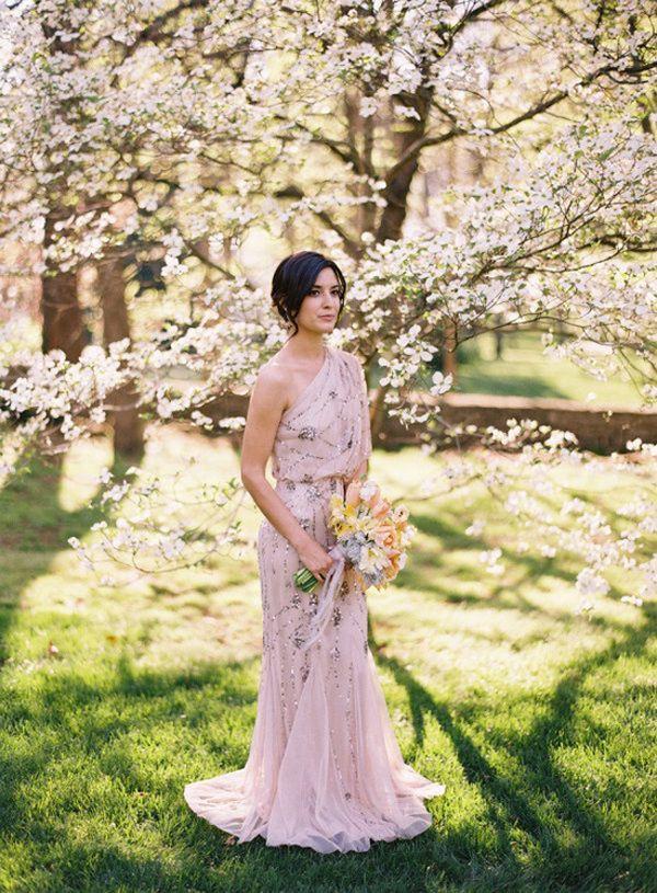 30 gorgeous wedding dresses that are not white - GORGEOUS!