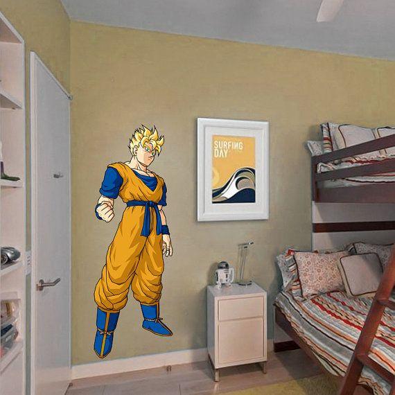 Best Dbz Decals Images On Pinterest Dragon Ball Z Goku And - Dragon ball z wall decals