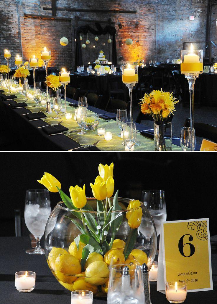 lemon yellow wedding