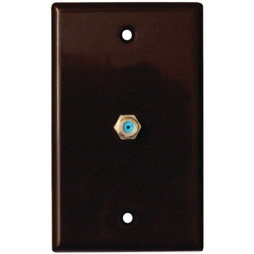 Datacomm 32-2024-BR 2.4 GHz Coax Wall Plate (Brown) by Datacomm. $2.00. DATACOMM ELECTRONICS 32-2024-BR 2.4 GHz Coax Wall Plate (Brown). Save 60% Off!