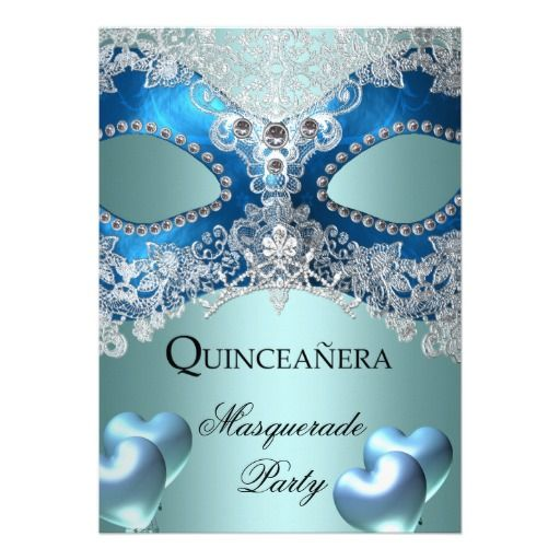 20 best Masquerade Invitations For Quinceaneras images on Pinterest
