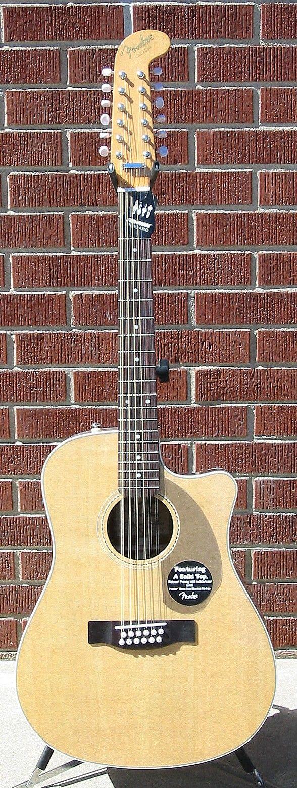 Fender Villager 12 String Acoustic Electric Guitar