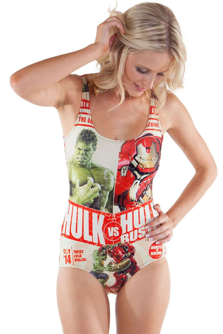 Hulk vs Hulkbuster Swim $85.00 AUD