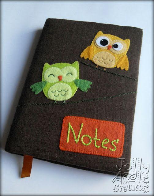 Felt Owls Notebook