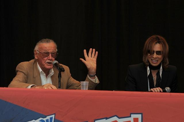 Stan Lee and Yoshiki   Flickr - Photo Sharing!
