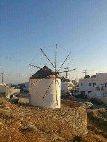 Old windmill, ios island