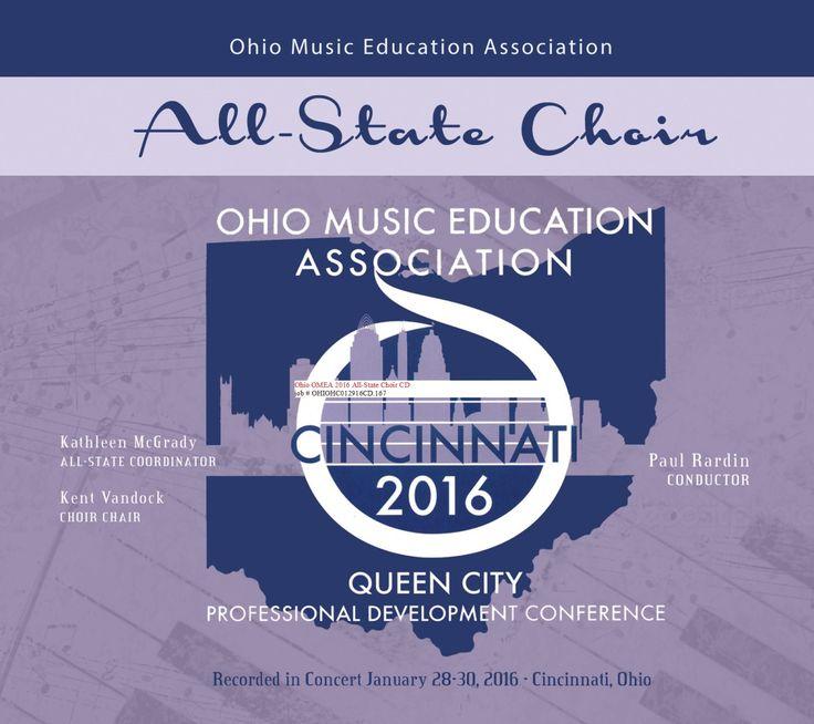 "Ohio Music Educators Assoc. (OMEA) 2016: Ohio All-State Choir | Features ""Carmina mei cordis"" by Abbie Betinis"