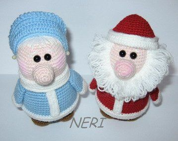 Grandfather Frost and Snow Maiden grandmother