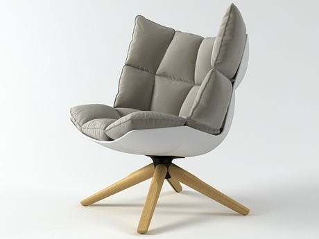 New chair B Italia Husk design Patricia Urguiola