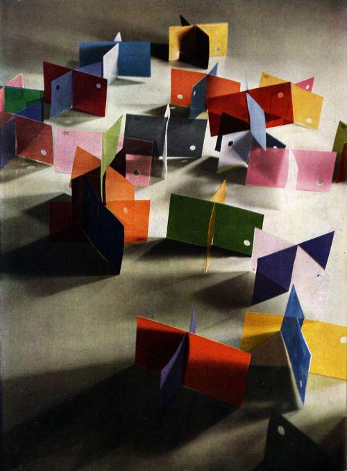 Lazlo Moholy-Nagy, Dufay Color Photograph, 1935
