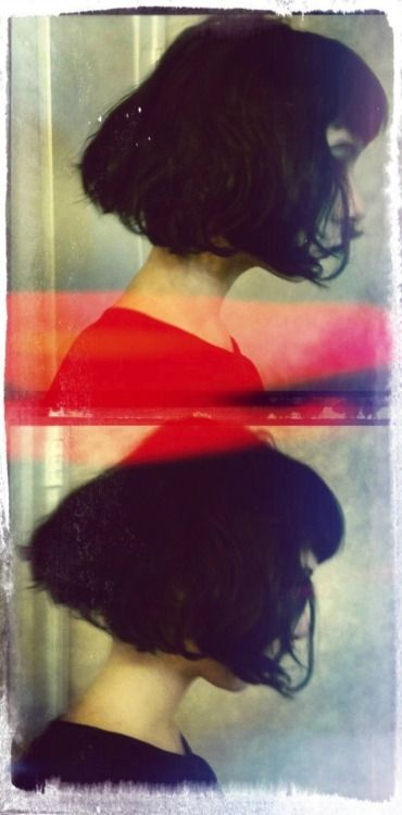 <3 her hair