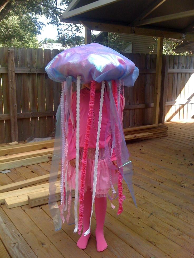 Jellyfish costume DIY ...