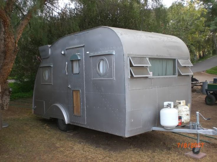 Aluminum Teardrop Trailers : Pin by terry mcdonald on trailers and such pinterest