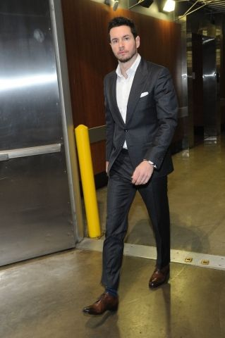 Clippers guard J.J Redick arrives at STAPLES Center, NBAE/Getty