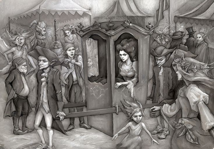 Chandra's Box of Stars: Mab in the Fairy Market: finished version